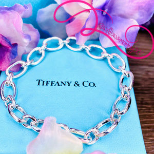 NWOT Tiffany & Co. Oval Clasping Link Bracelet